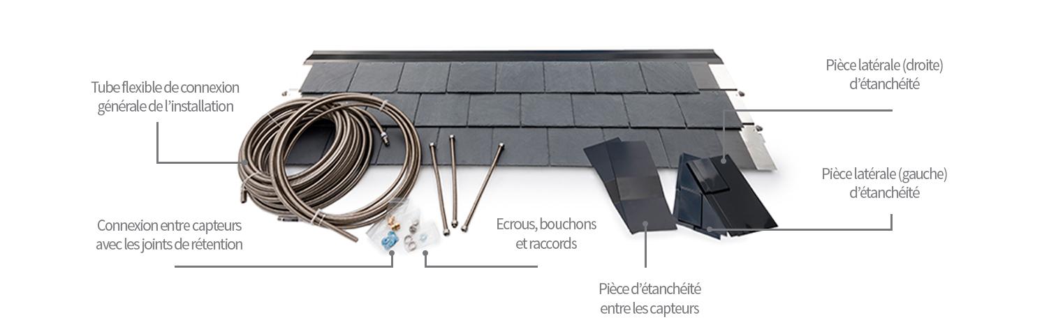 kit connexion et impermeabilisation thermoslate