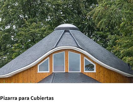 Amplia gama de cubiertas en pizarra natural.