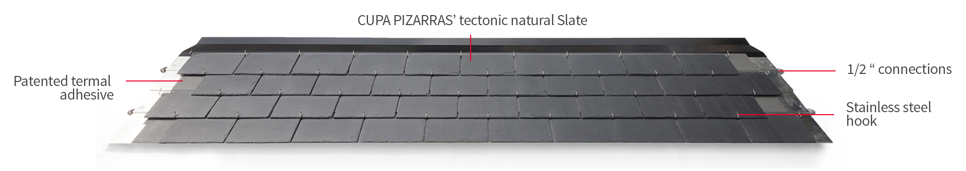 thermoslate solar slate with hook detail