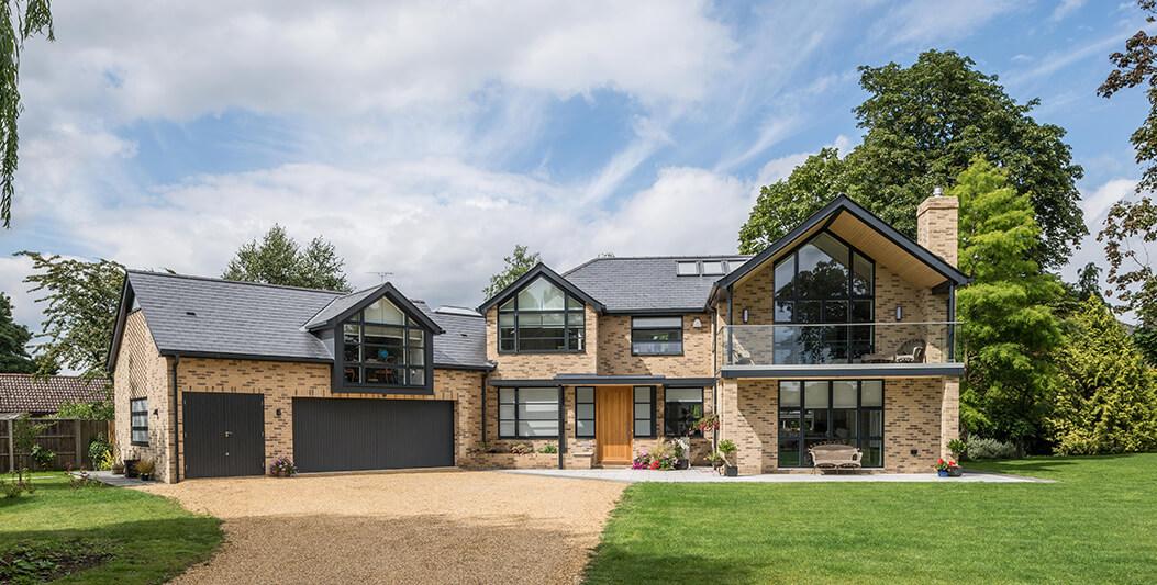 Casa Lansdowne, una moderna propiedad en Cambridge (Reino Unido),