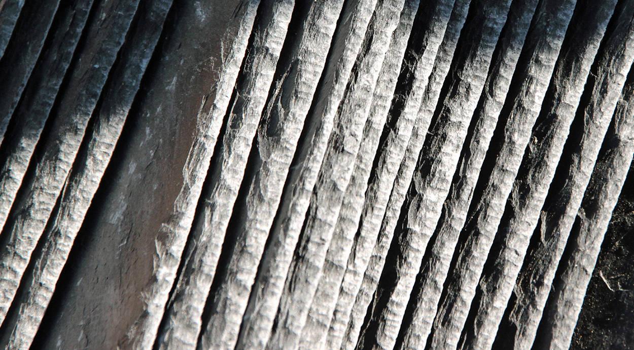natural slate detail