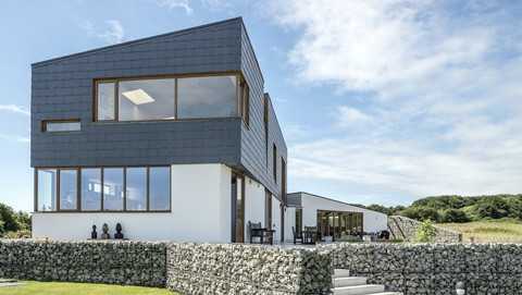 natural slate for facades