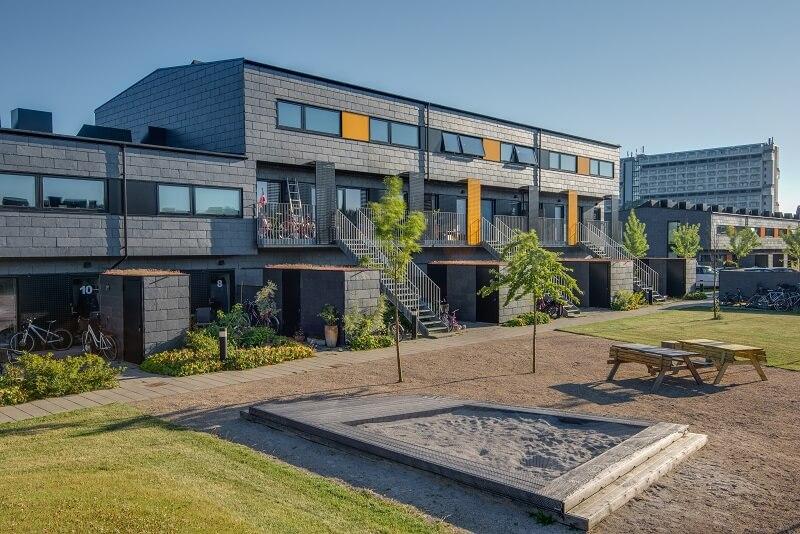 casas con fachada ventilada
