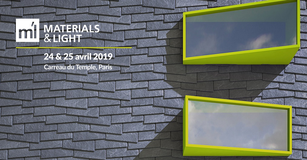 CUPACLAD Design à Materials & Light 2019 à Paris