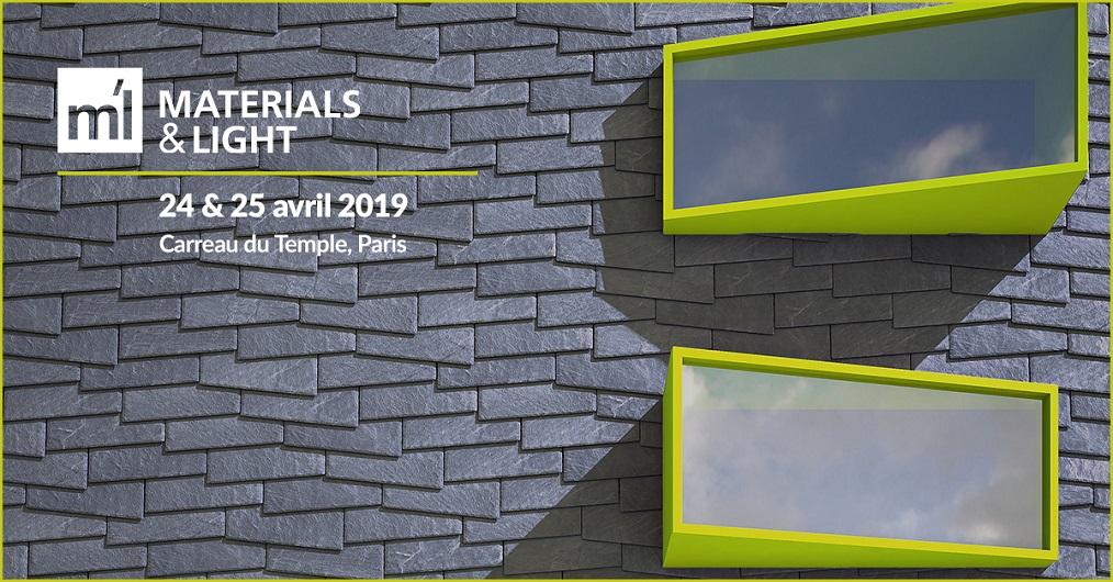 CUPACLAD Design à Materials & Light 2019 à Paris