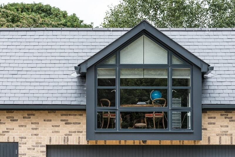nail fixed slate roof