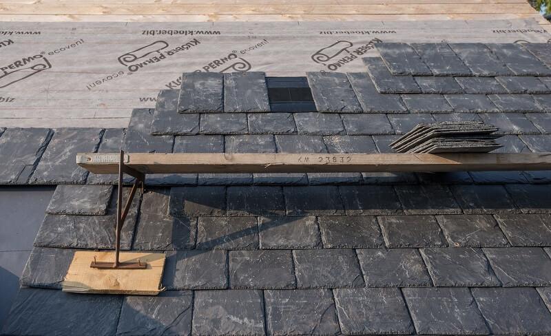 nail fixing slate roof