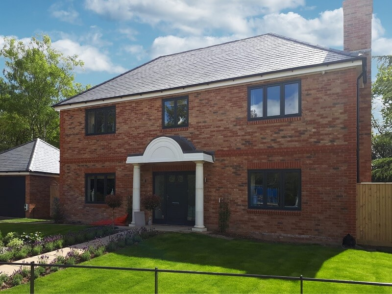 luxury homes with slate pitched roof in West Kingsdown