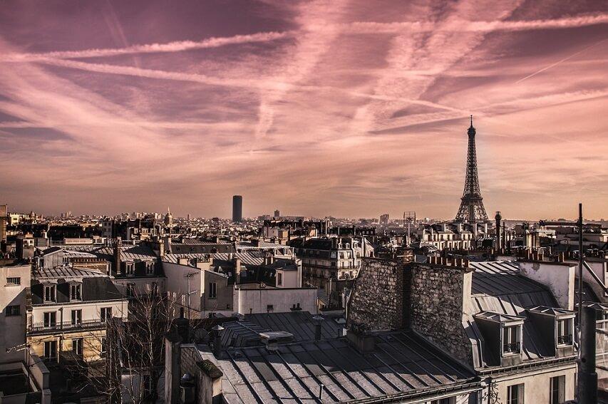 Les toits de Paris - Tour Eiffel