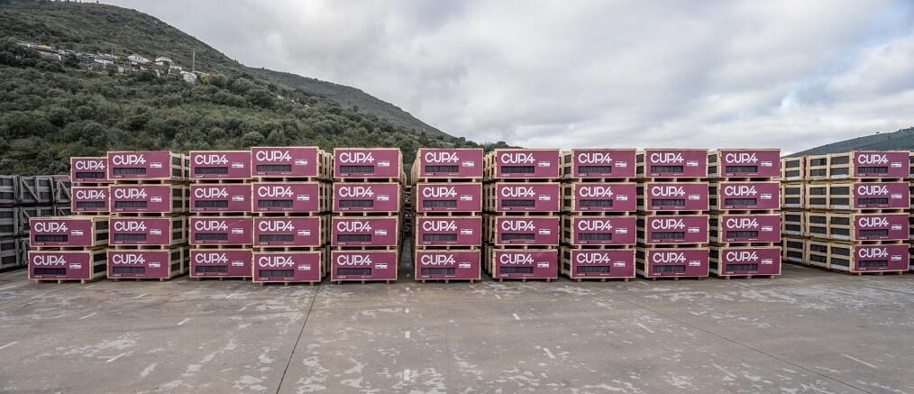 CUPA PIZARRAS natural slate pallets