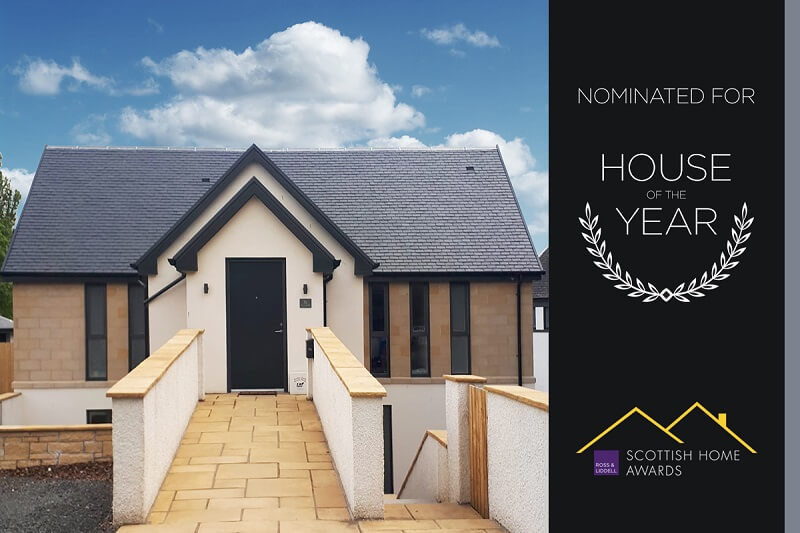 No.3 Arnothill, Falkirk, finalist of the Scottish Home Awards 2019