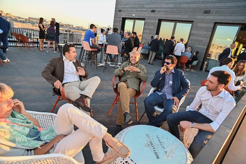 première « Rooftop summer party Toits de Paris