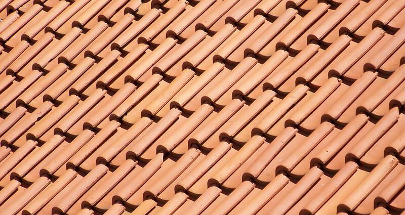 tejas de cerámica
