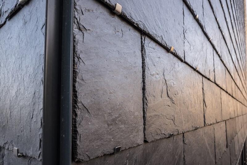 cupaclad façade ventilée en ardoise