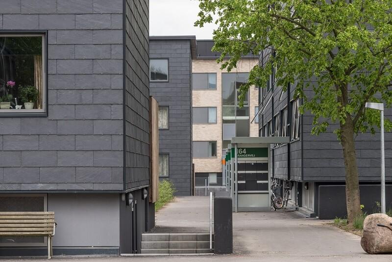 revestimiento de pizarra - Sønderparken