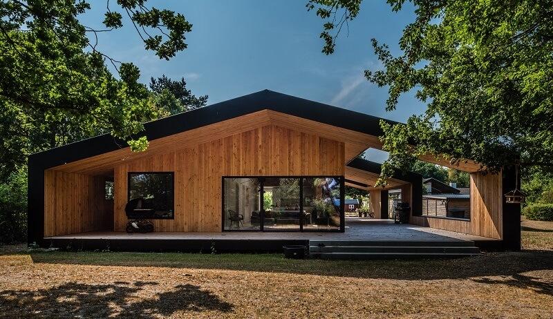 continuité toiture façade