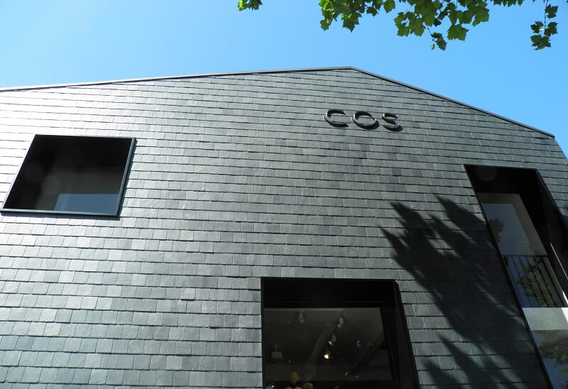 cos store rainscreen cladding facade