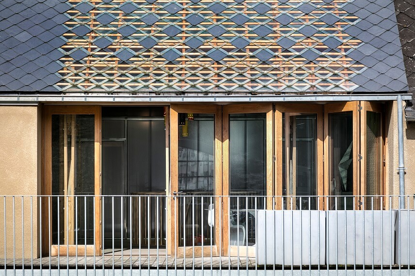 Bioclimatic House in Morlaix, France