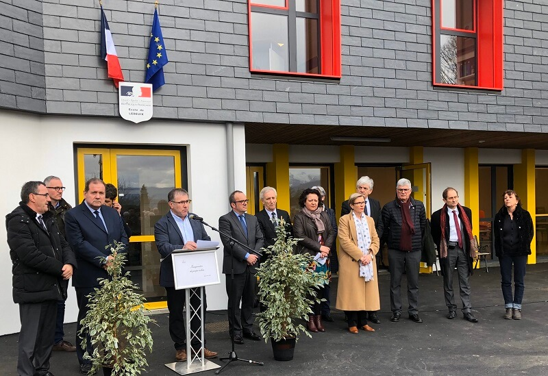 inauguration ecole ledeuix