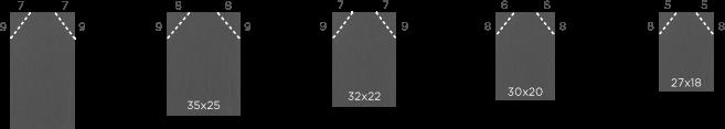 dimension-epaulement ardoise flamand