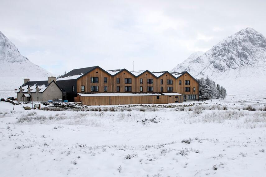 snow hotel scotland