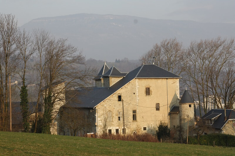 Château de Villeneuve à Chambery