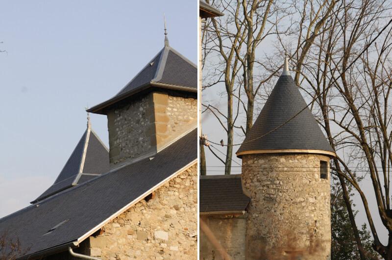 restauration Château de Villeneuve