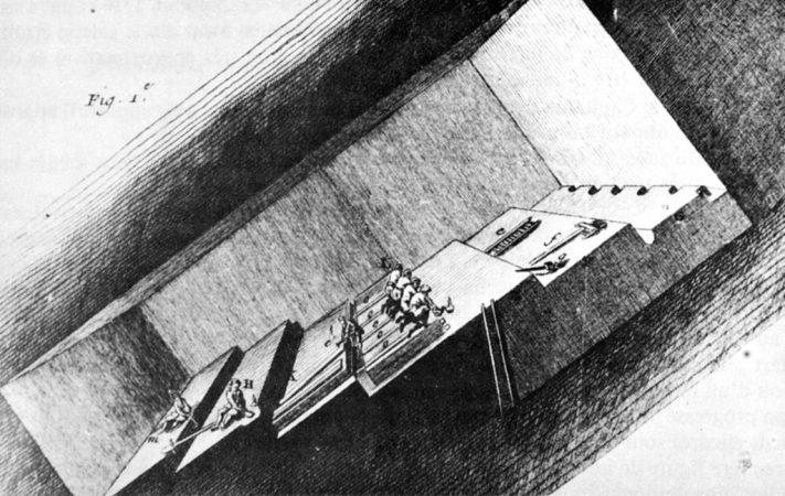 Rimogne : relais d'échelle et de pompes au 18è siècle