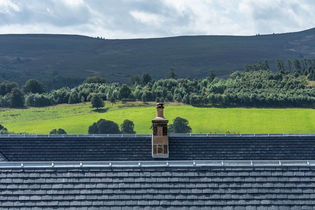 tejado de pizarra ecológico