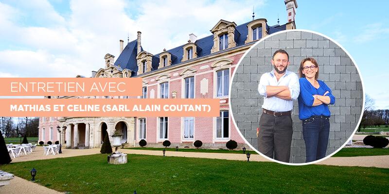 entretien Mathias et Celine Coutan - president ecole supérieure de la couverture d'Angers.