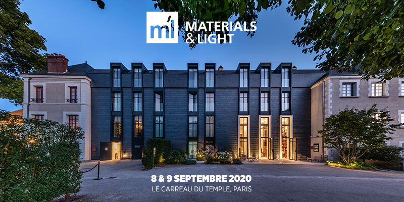 materials and lights Paris 2020