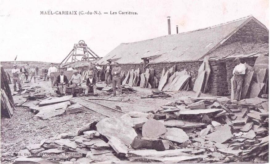 ardoisieres bretonnes carrieres