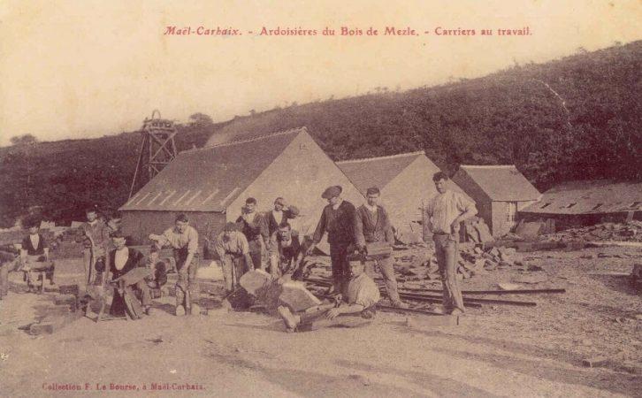 ardoisieres-bretonnes-carriers-au-travail
