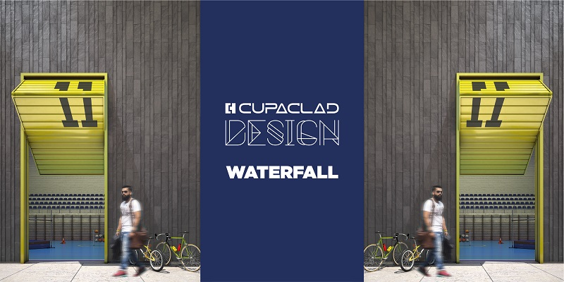 cupaclad design waterfall