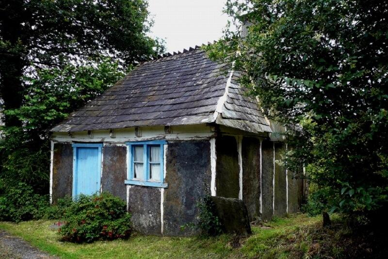 maison d'ardoisier bretonne
