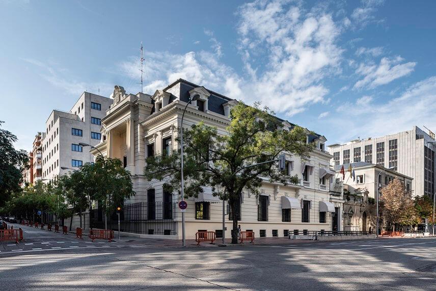 palacio de borghetto en Madrid