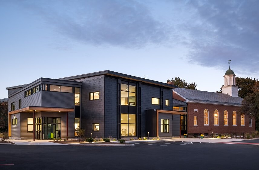 Vermont integrated architecture Pierson Library