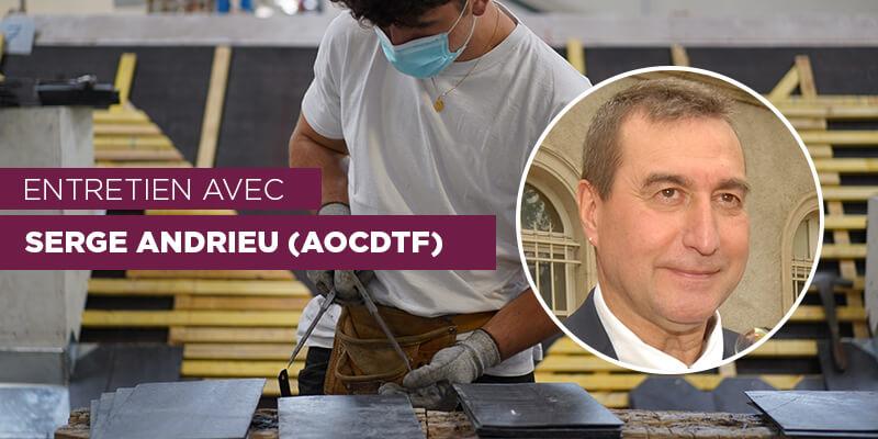 Serge Andrieu responsable de l'Institut supérieur de la couverture