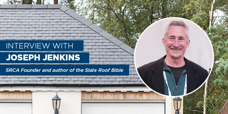 Joseph Jenkins: SRCA Founder and author of the Slate Roof Bible