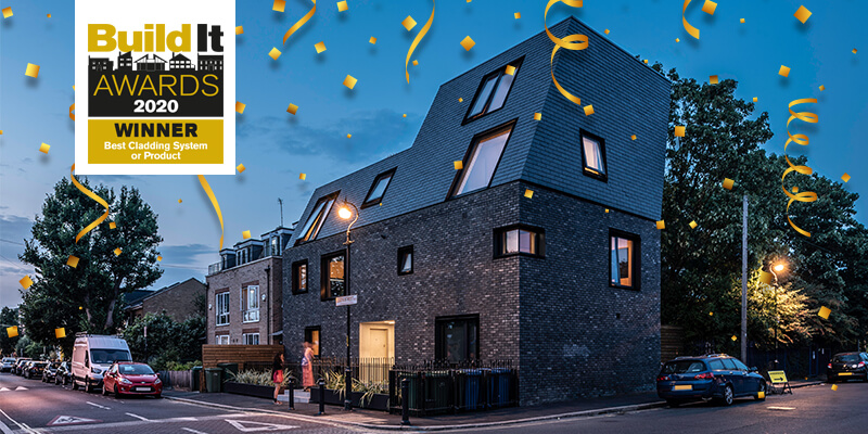 winner of the best cladding system in the 2020 Build It Awards