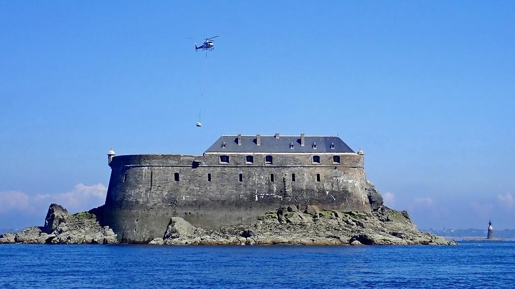 Restauration du Fort de la Conchée