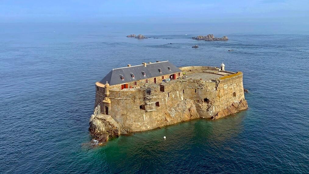 fort conchée à Saint Malo