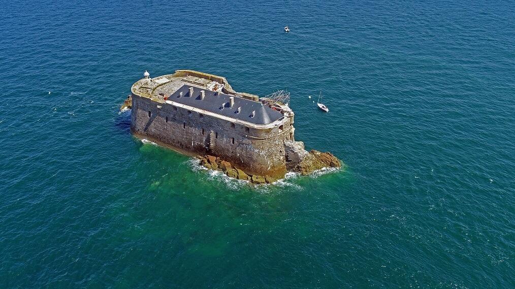 Fort de la Conchée a Saint Malo