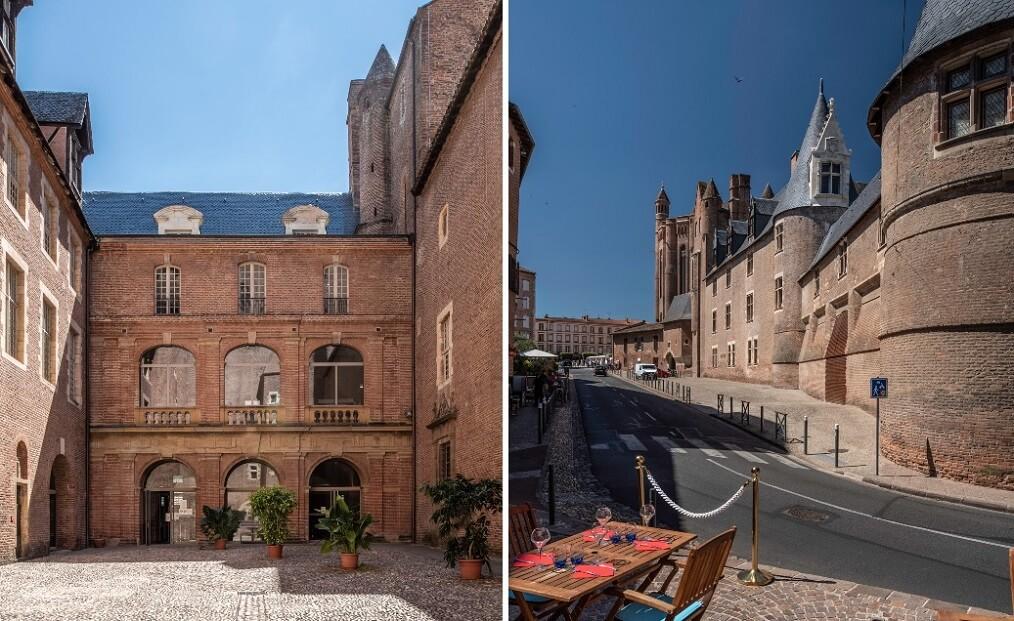 restauration palais de la Berbie - Albi