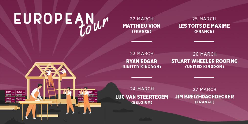 european roofers tour