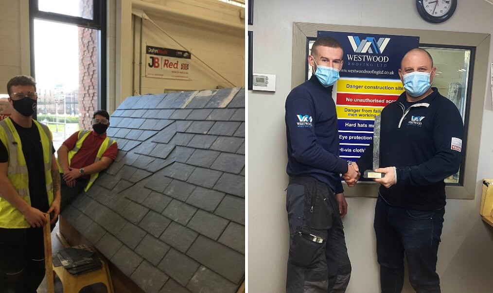 lcb apprentices roofing slate