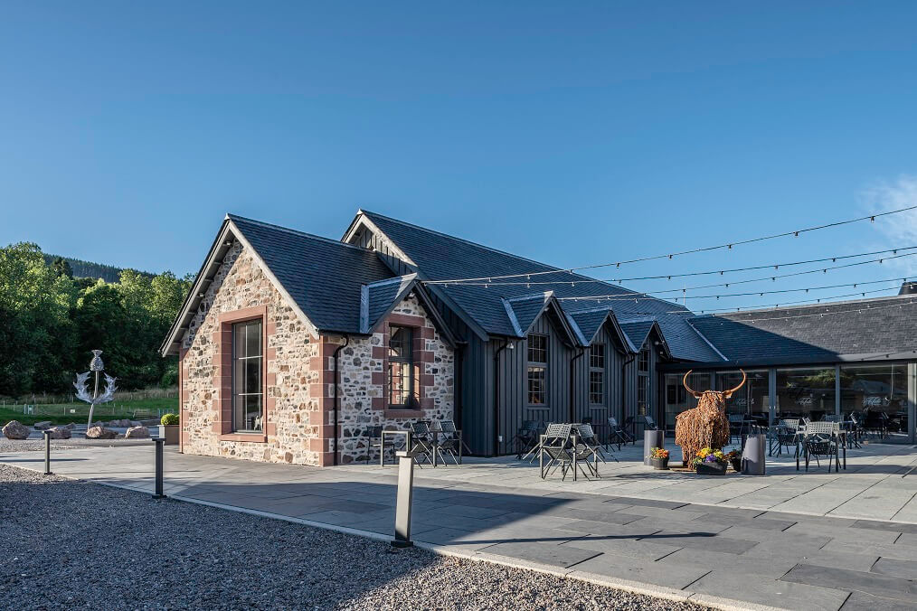 loch ness new roofing slate