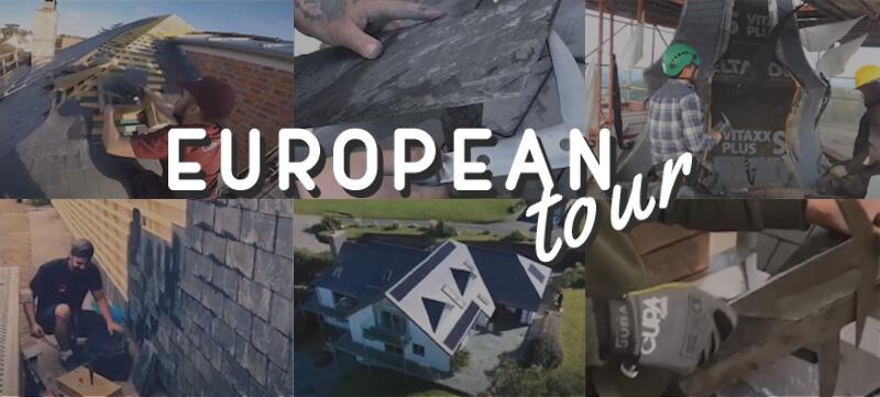 roofers european tour