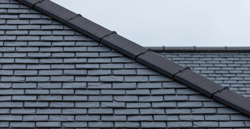 black-grey roofing slates
