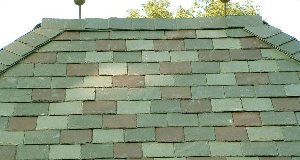green roofing slate